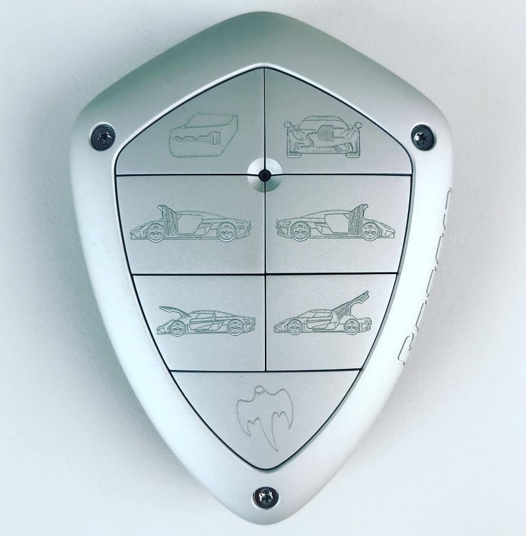 Regera key designed by Oscar Dulow